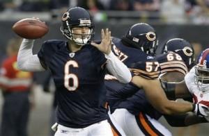 Bears Cutler Football