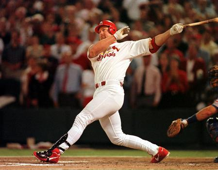 a discussion on mark mcgwires record of 70 home runs Mark mcgwire: all 70 hr's in 1998 - duration: race for the record - mark mcgwire & sammy sosa 1998 11 greatest home runs in mlb history.