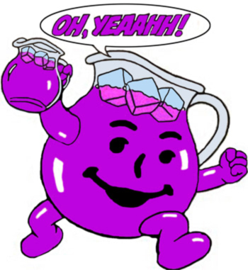 ESPN, JaMarcus Russell, Colleen Dominguez and the ... Purple Kool Aid Man