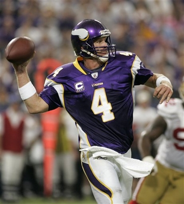 brett favre vikings funny. Its funny how quick people are