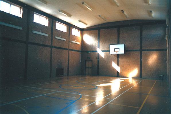 indoor home basketball indoor basketball court wallpaper 900 x 600    Empty Indoor Basketball Court
