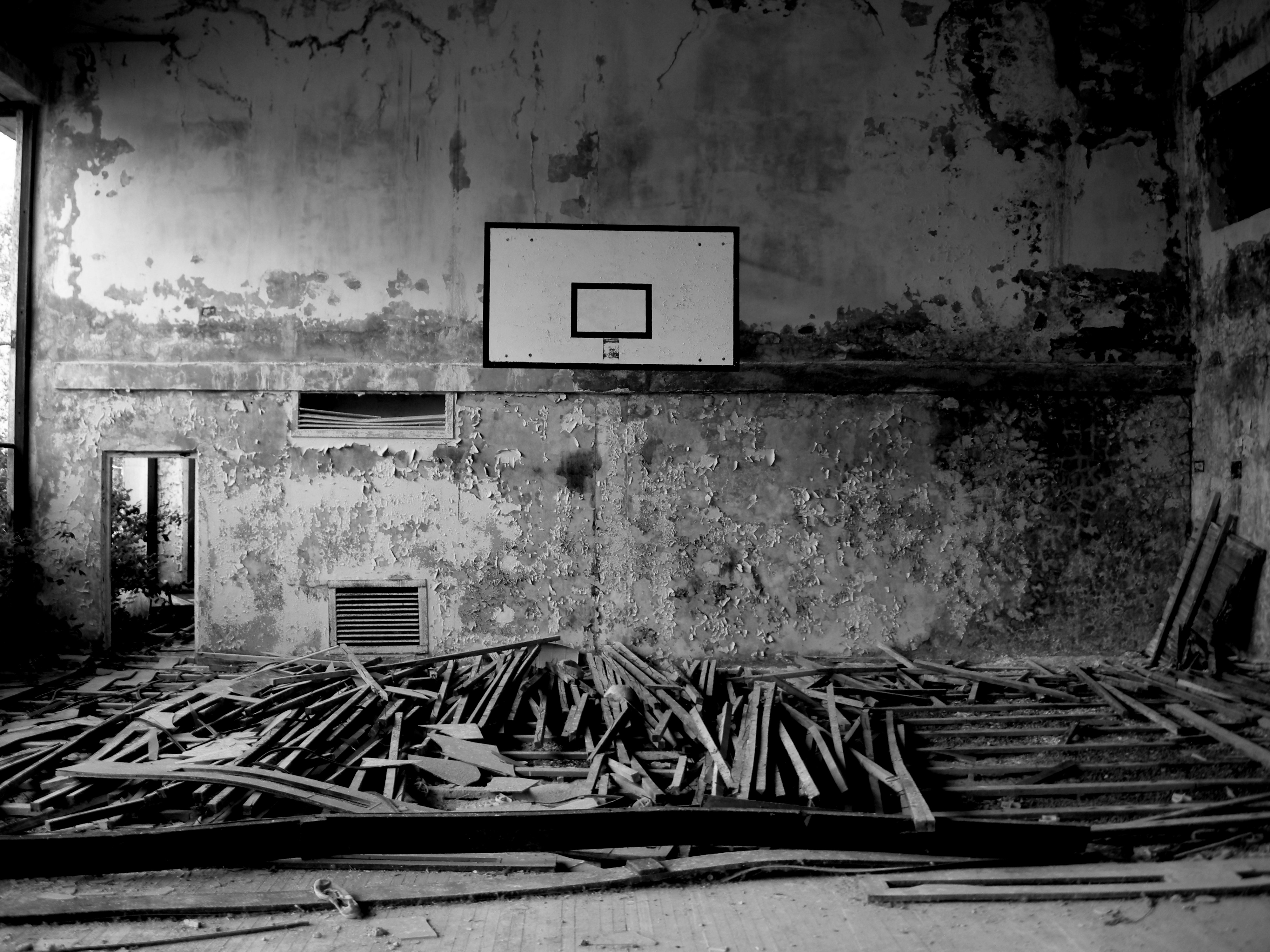 """18 thoughts on """" A tale of two basketballs and a season without: A ... Empty Gym Wallpaper"""