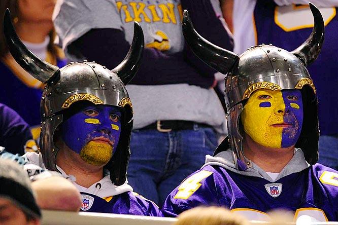 Home Of Minnesota Vikings Football Vikings On Fire Against The Lions