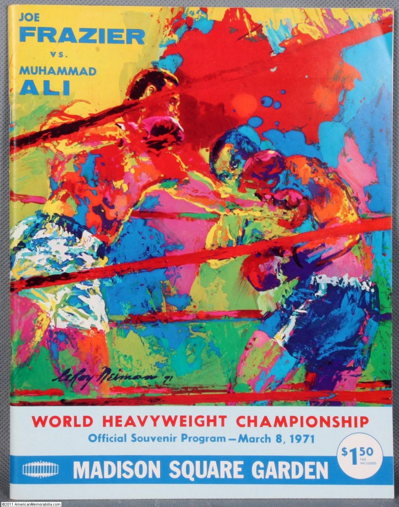 Ali Frazier program 806x1024 Wherefore art thou boxing redux