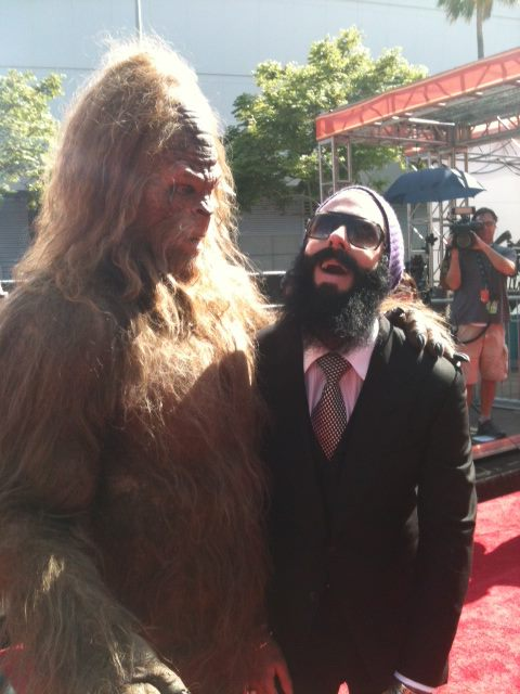 Brian Wilson sasquatch Your weekly caption contest celebrates fictional characters and relief pitchers
