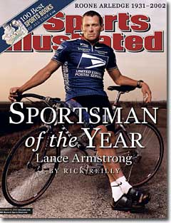 Lance SI Armstrong strong armed, banned from cycling for life