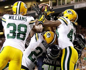 Packers Seahwaks scrum 300x244 Botched calls not the only problem with the NFL these days