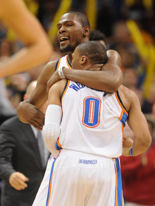 Kevin Durant And Russell Westbrook Best Friends Between kevin durant and