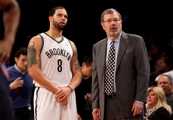 PJ Carlesimo and Deron Williams