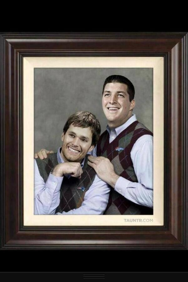 Tebow Brady stepbrothers