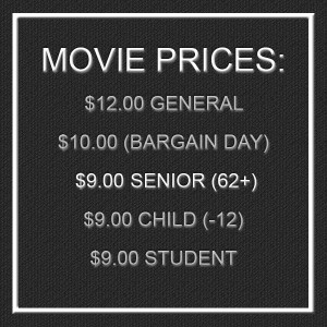 senior movie discount