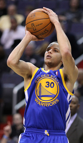 Steph Curry jumper