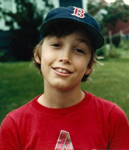 Disillusioned yet determined and possibly stoned young Red Sox fan