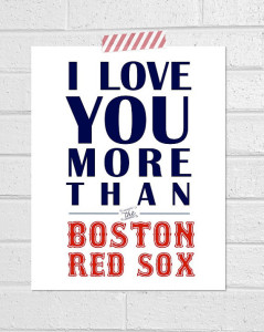 Love Boston Red Sox