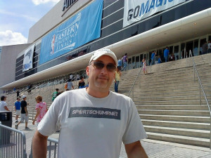 SportsChump at Amway Arena Eastern Conference Finals