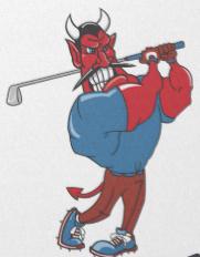 devil golfing