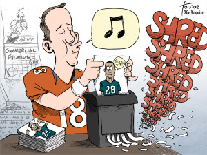 peyton cartoon
