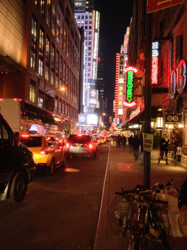 12 - Times Square area