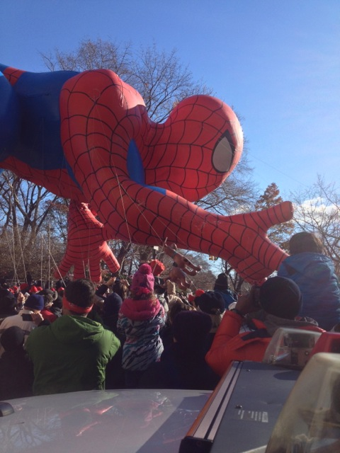 2 - Spidey at the parade