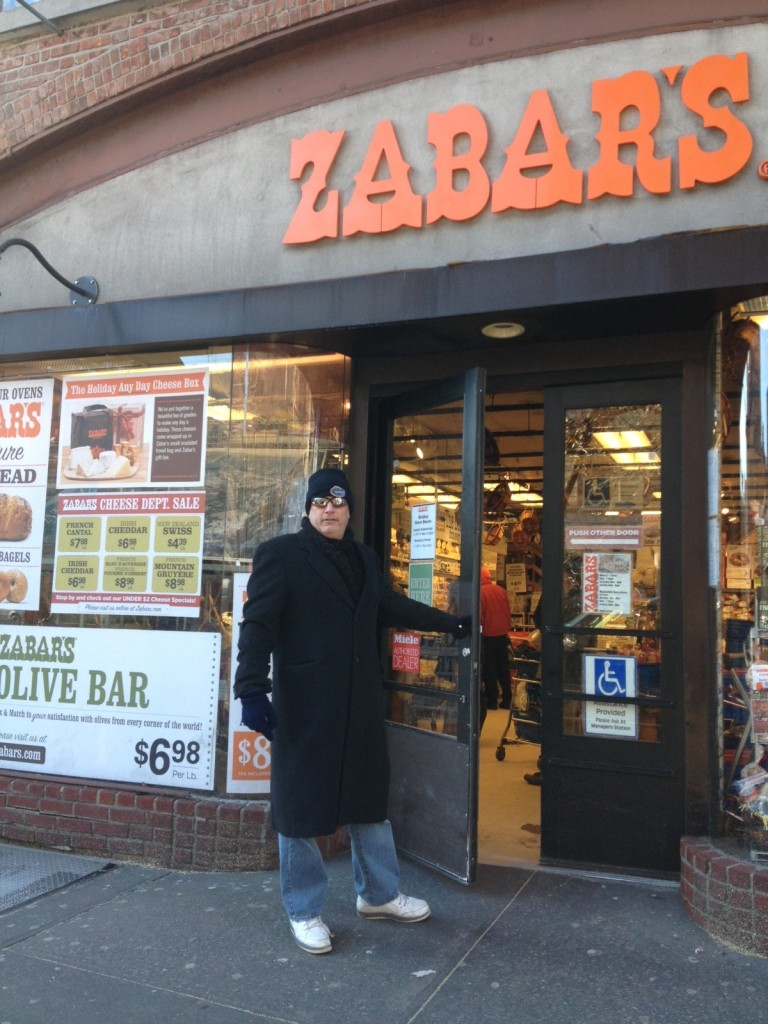 5 - Outside Zabars