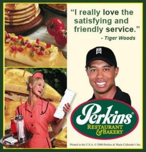 Tiger Perkins Waitress
