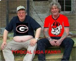 UGA fans