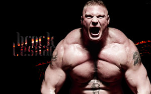 lesnar freak