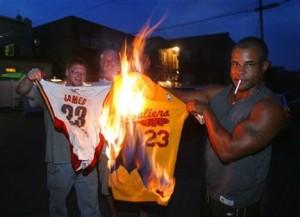 LeBron Decision Ohio Basketball