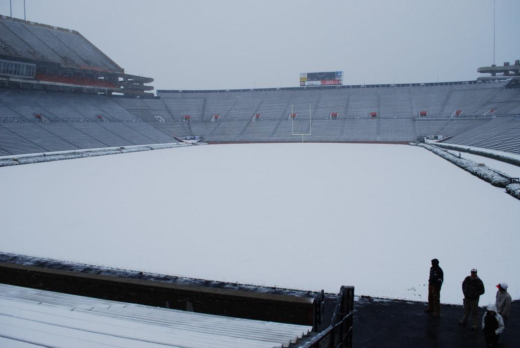 Auburn's Jordan (O')Hare Stadium