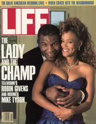 Life cover of Mike Tyson and Robin Givens