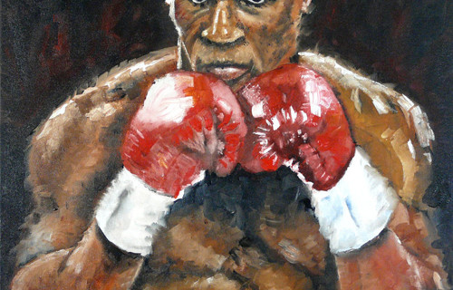 Mike Tyson artwork