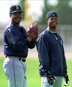 Griffey and son