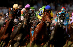 Action from the 2011 Kentucky Derby.