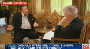 Anderson Cooper interviews Donald Sterling