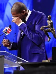 Durant MVP speech