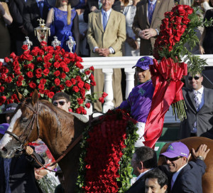 California Chrome wins Derby