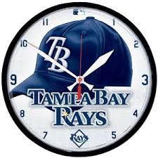 Tampa Bay Rays clock