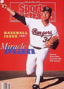 Nolan Ryan SI Cover