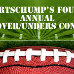 SportsChump's Fourth Annual NFL Over/Under Contest