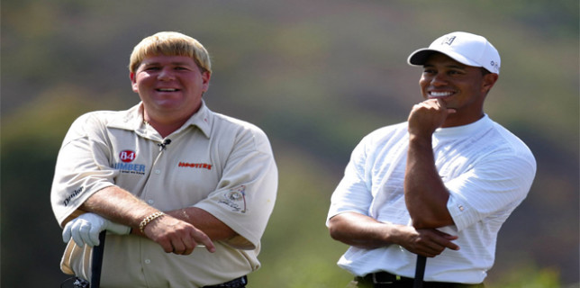 John Daly Tiger Woods