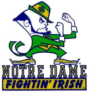 Notre Dame Fighting Irish racist mascot