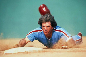 Pete Rose slide
