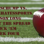NFL Week Four Against the Spread Pick 'Em: SportsChump vs. KP vs. Darrell Harden