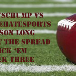 NFL Week Three Against the Spread Pick 'Em: SportsChump vs. KP vs. BleedLakersPnG