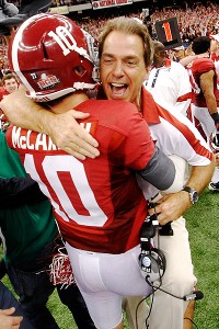 McCarron and Saban