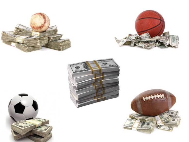 money in sports The sports industry is huge - you just need to know how to tap into the rivers of money that flow through it lots of 'gurus' will tell you why you need to buy their product for $97, $197 and upwards.