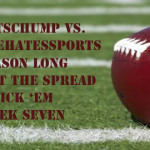 NFL Week Seven Against the Spread Pick 'Em: SportsChump vs. KP vs. The Duck