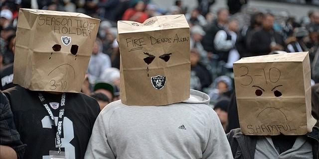 Raiders bags