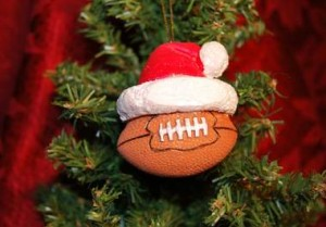 christmas football