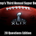 SportsChump's Third Annual Super Bowl Contest: 20 Questions edition